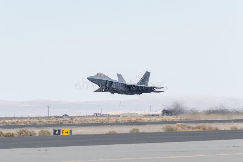 USAF Lockheed Martin φ-22 αρπακτικό πτηνό στοκ εικόνες με δικαίωμα ελεύθερης χρήσης