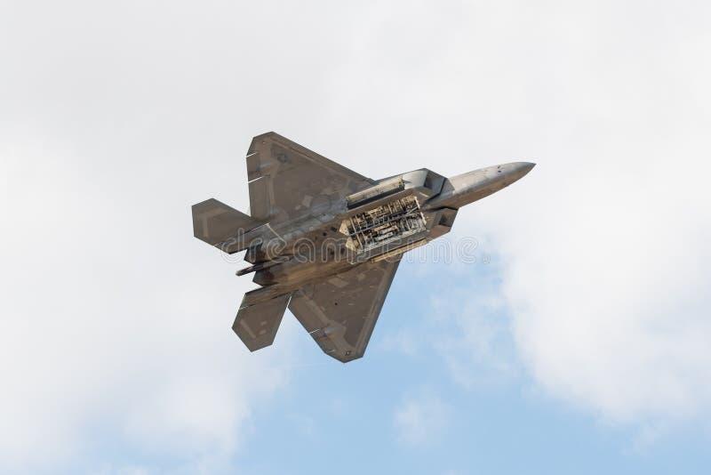 USAF Lockheed Martin φ-22 αρπακτικό πτηνό στοκ εικόνες
