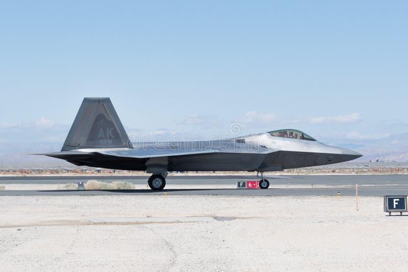 USAF Lockheed Martin φ-22 αρπακτικό πτηνό στοκ εικόνα