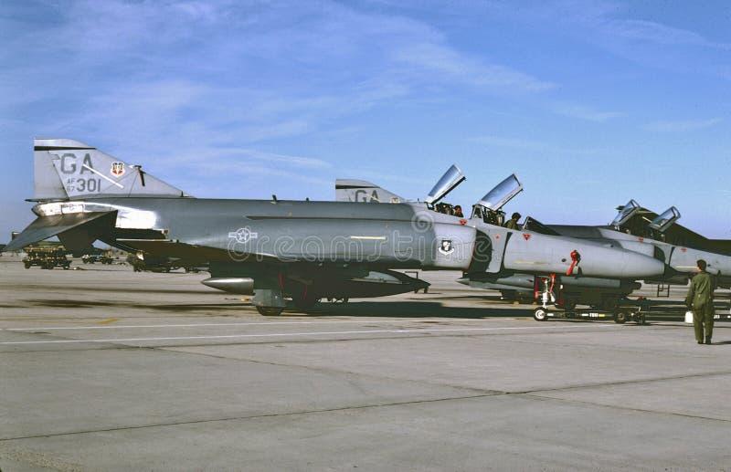 USAF McDonnell F-4E ` MIG zabójca 67-0301 obrazy royalty free