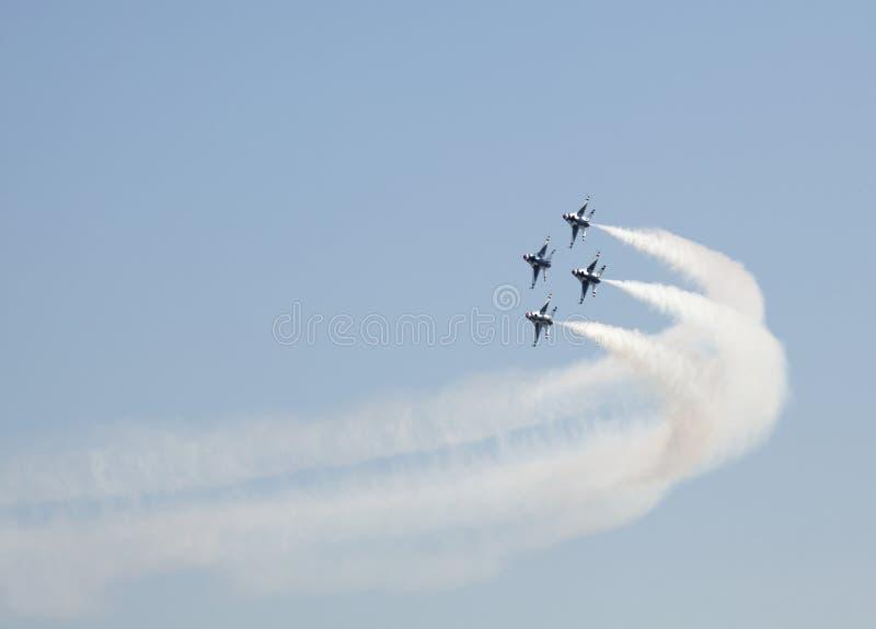 USAF Thunderbird Flyby