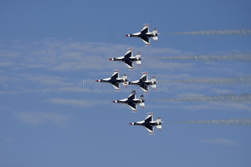 Download USAF Thunderbirds Airforce Show Stock Photo - Image: 22968754