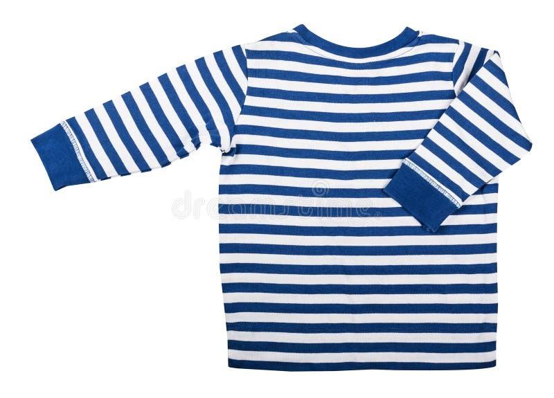 Usage du ` s d'enfants - douille rayée bleue du ` s d'enfant longue d'isolement photo libre de droits