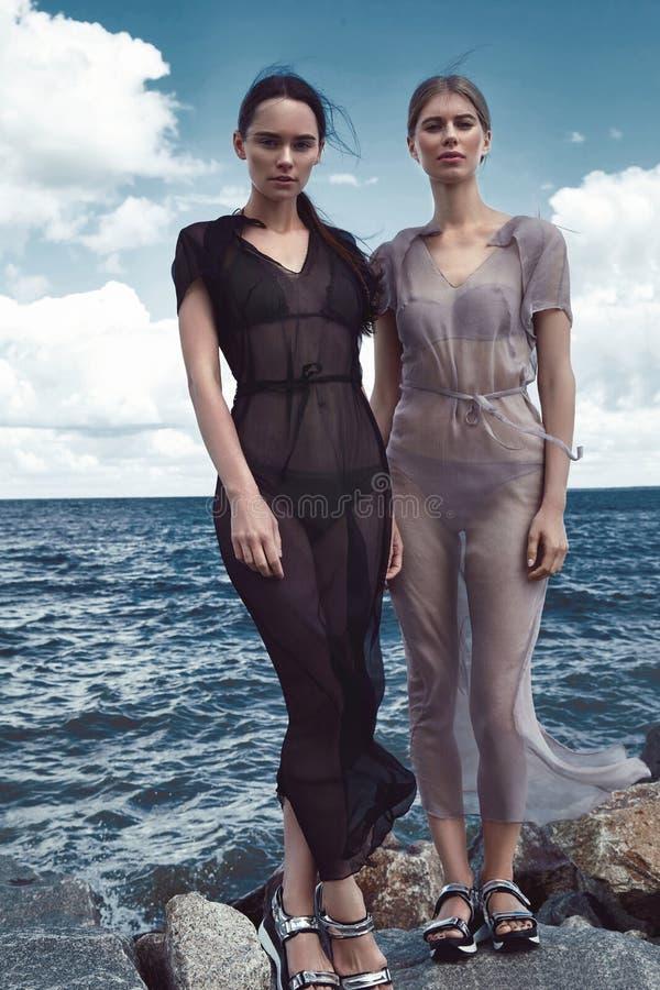 Download Usage Parfait Sexy De Deux Robe En Soie De Bel De Femme Vêtements De Dame Photo stock - Image du nuageux, beau: 76083148