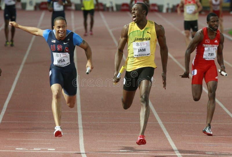 Usain Bolt stock photo