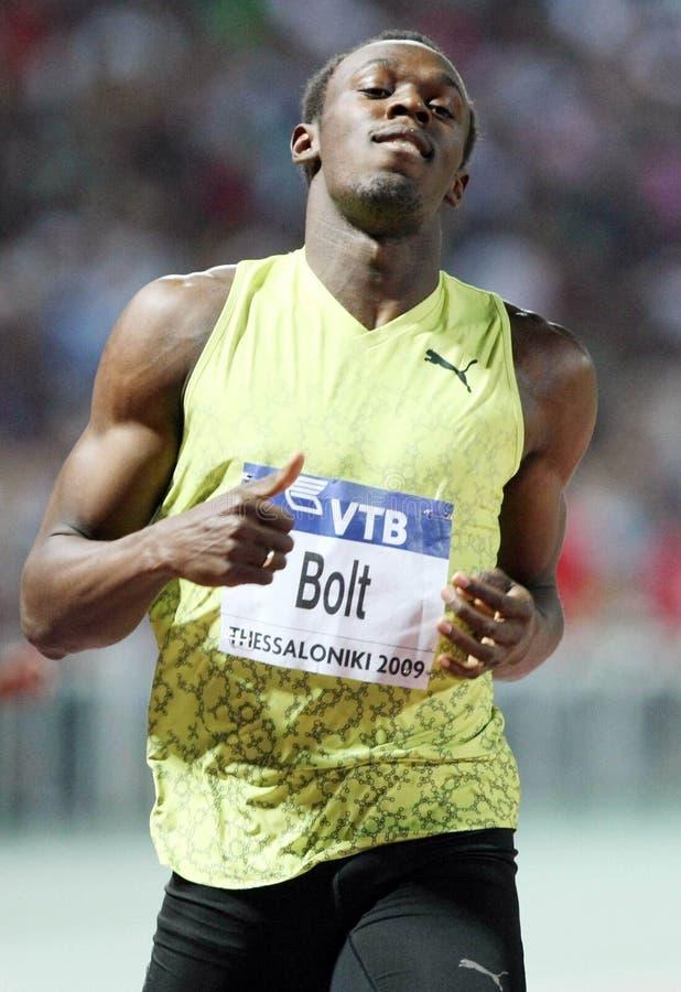 Usain Bolt royalty free stock photos