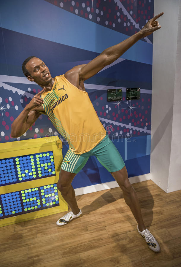 Usain Bolt stock images