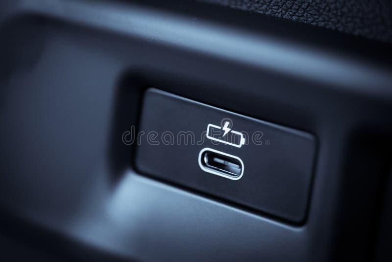 USB-Art c-Sockel lizenzfreies stockbild