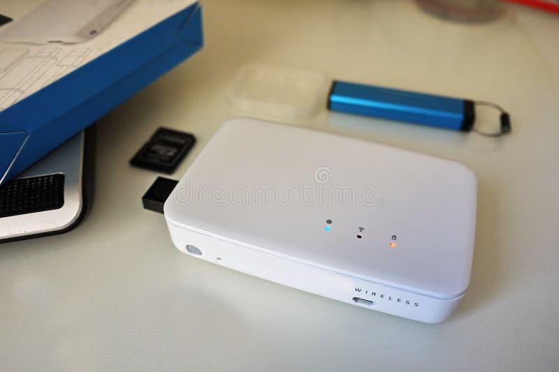 USB błysku przejażdżka przechować twój multimedii kartoteki i dane fotografia royalty free