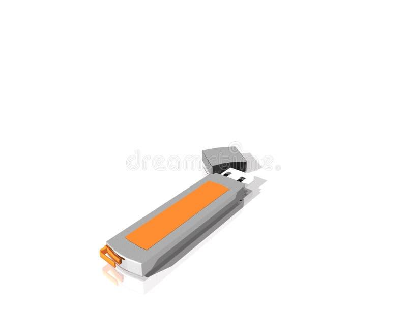Download USB Błyskowy Dysk, Odizolowywający Od Tła Ilustracji - Ilustracja złożonej z kolor, komputer: 28958229