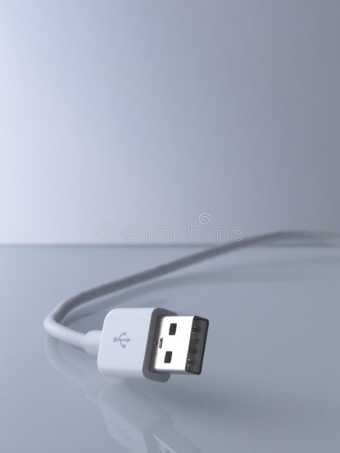 Usb cable stock image