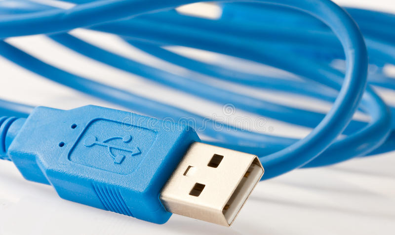USB cable royalty free stock image