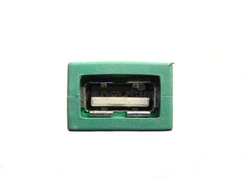 USB dźwigarka USB klawiatury i myszy adaptator zdjęcia royalty free