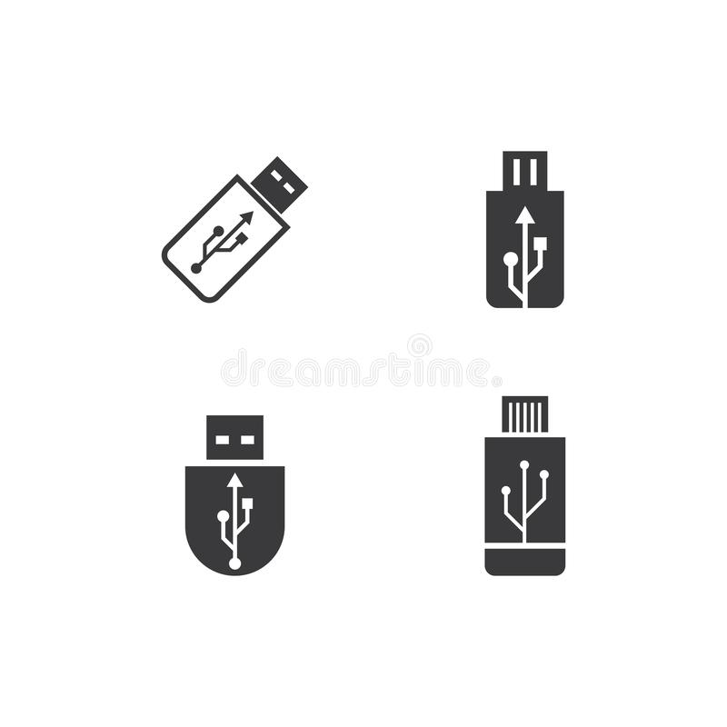 Free USB Data Transfer Icon Stock Photo - 151453100