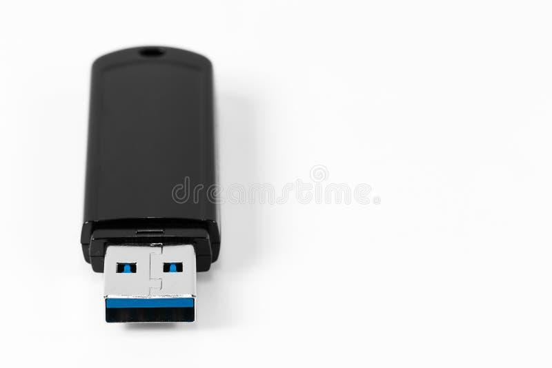 usb 0 3 Drive 0 λάμψης χωρίς ΚΑΠ που απομονώνεται στο άσπρο υπόβαθρο στοκ εικόνες με δικαίωμα ελεύθερης χρήσης