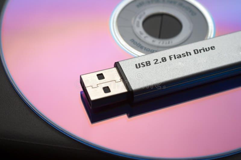 Usb flash drive royalty free stock photography