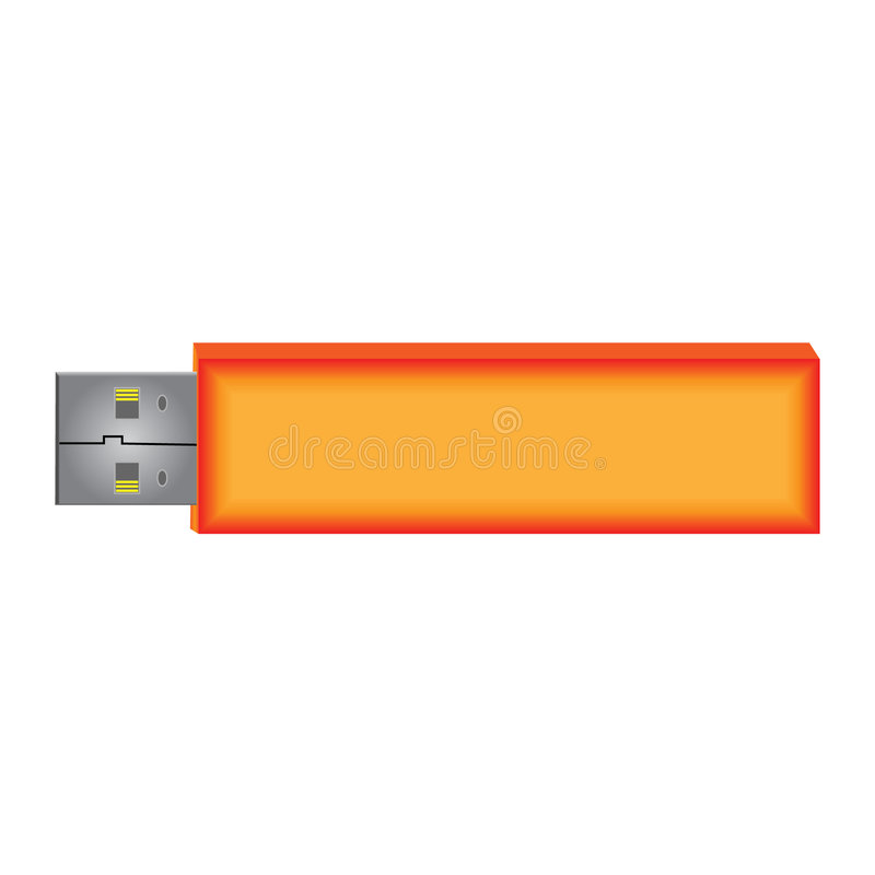 USB Flash Drive royalty free stock images