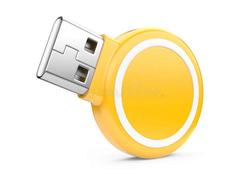 Download USB Flash Drive. 3d image stock illustration. Image of store - 30586226