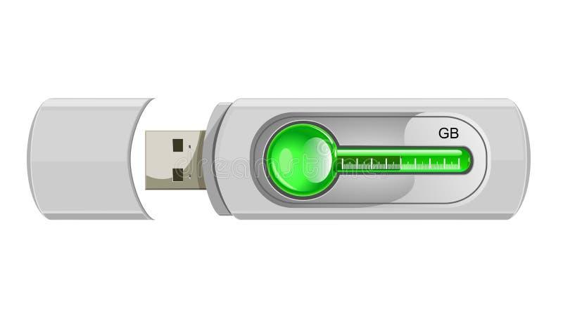 Download Usb flash memory stock vector. Illustration of memory - 18823339