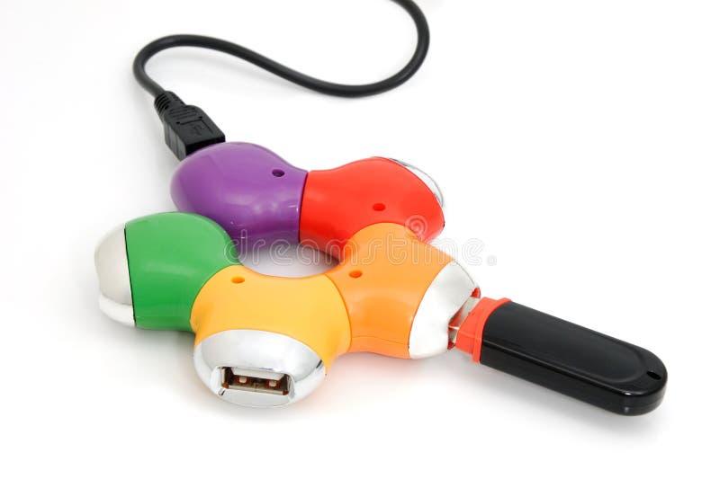 USB-HUB photo libre de droits