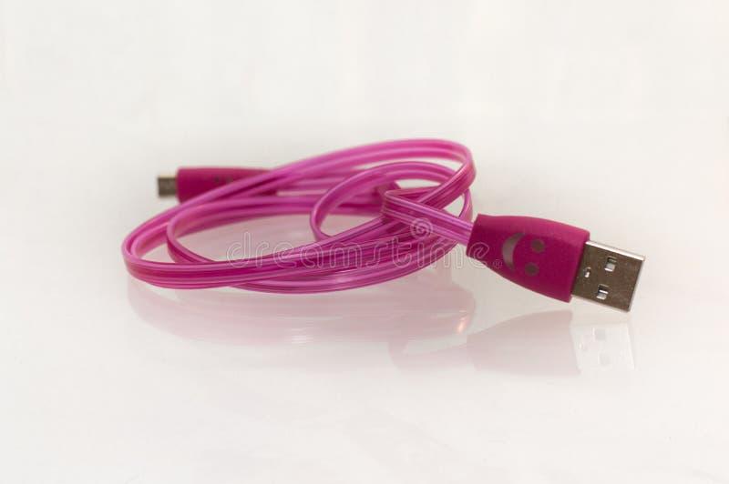 USB-kabel arkivfoto