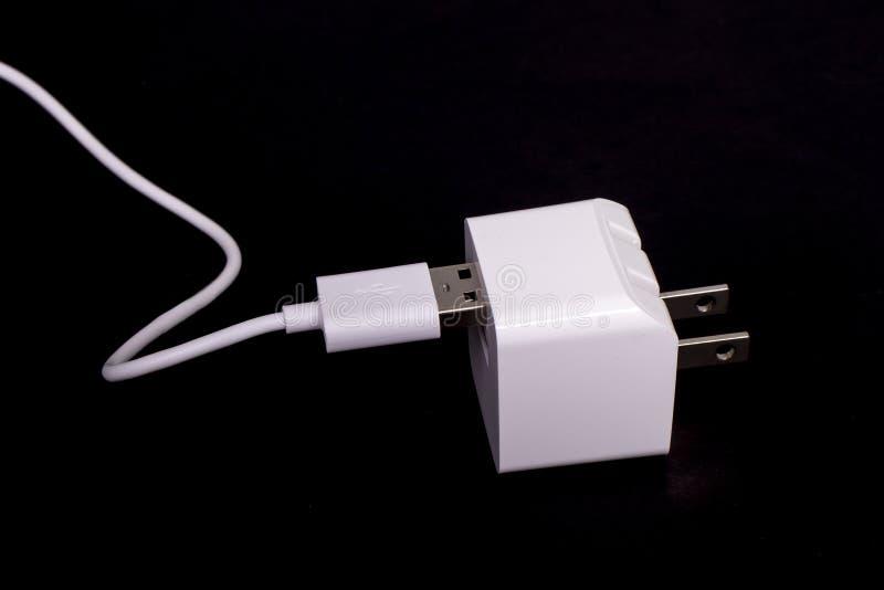 USB Plug Adapter royalty free stock image