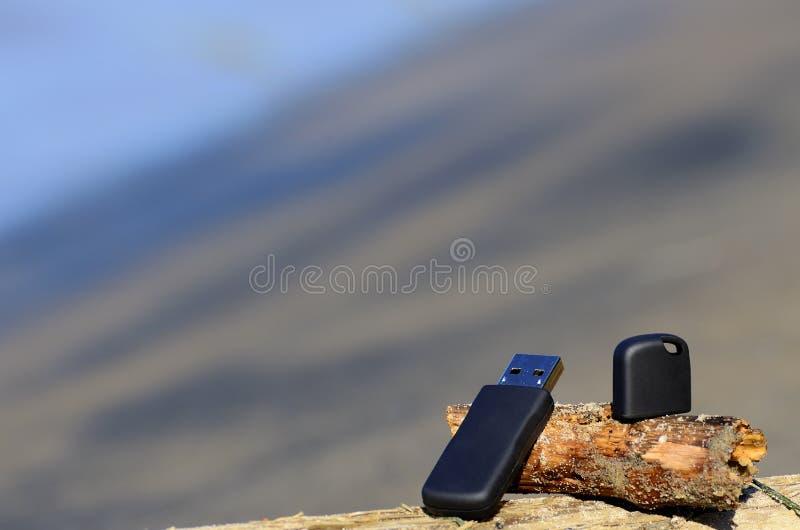 Usb-Speichersteuerknüppel stockfotografie