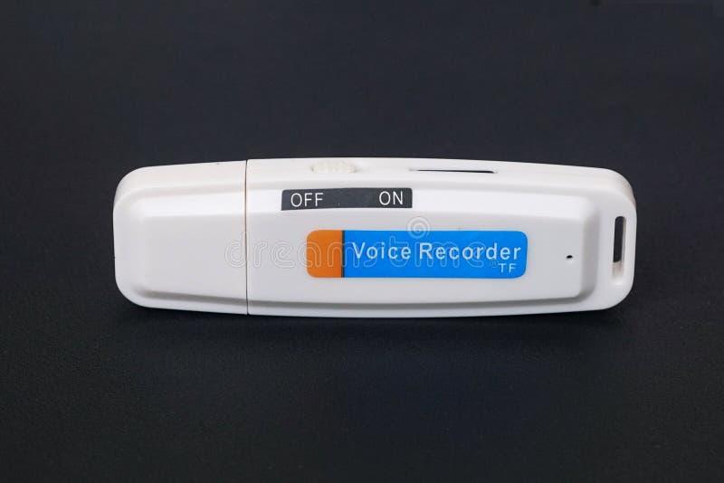 USB stämmaregistreringsapparat arkivfoton