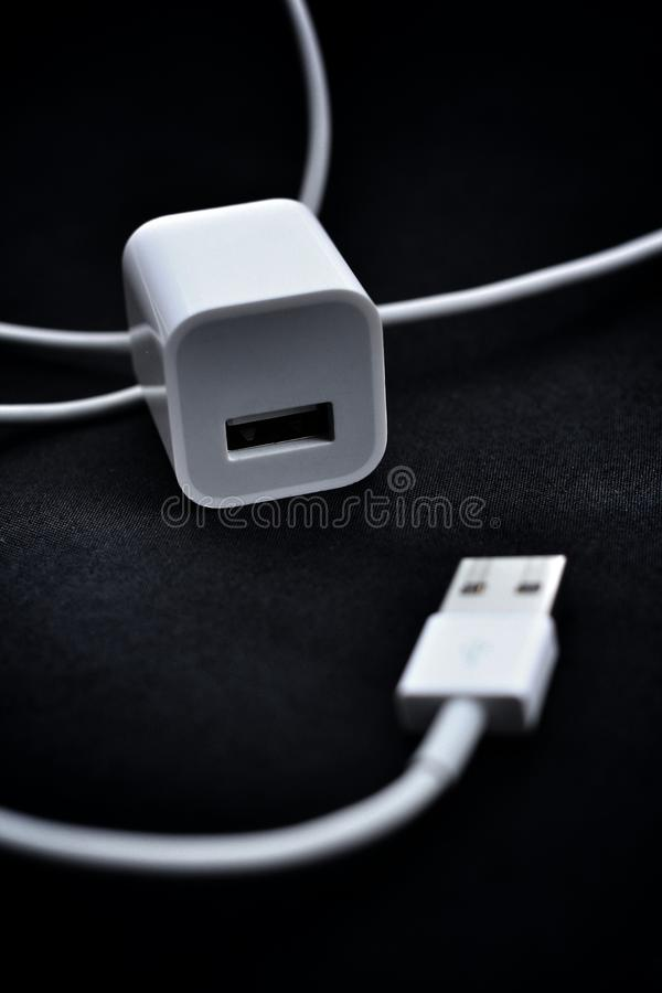 USB Type A Plug Stock Photos