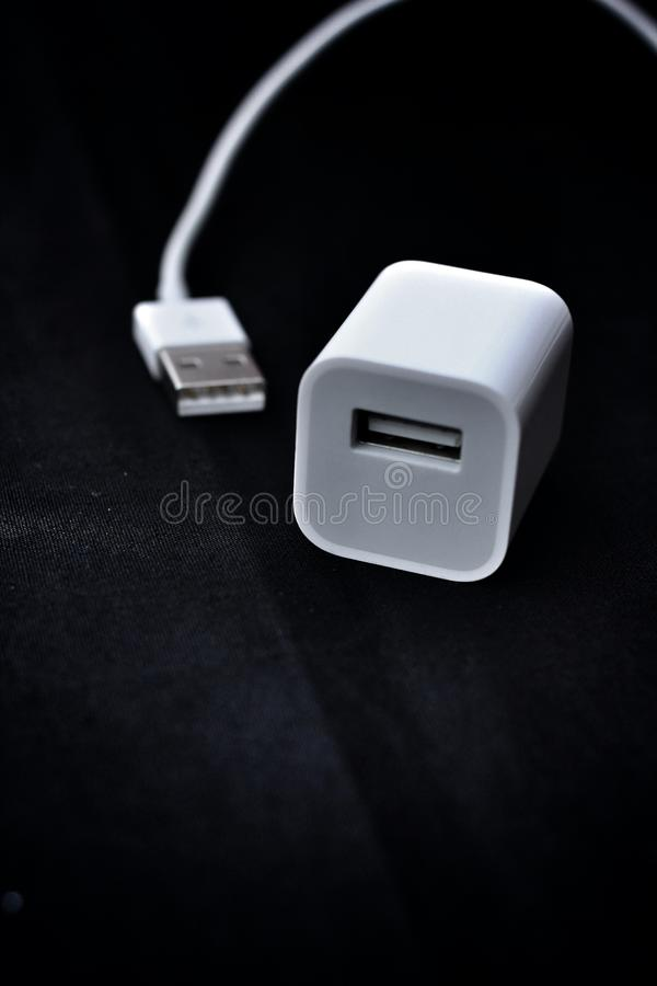 Download USB type A plug stock illustration. Image of symbol, plug - 34521955