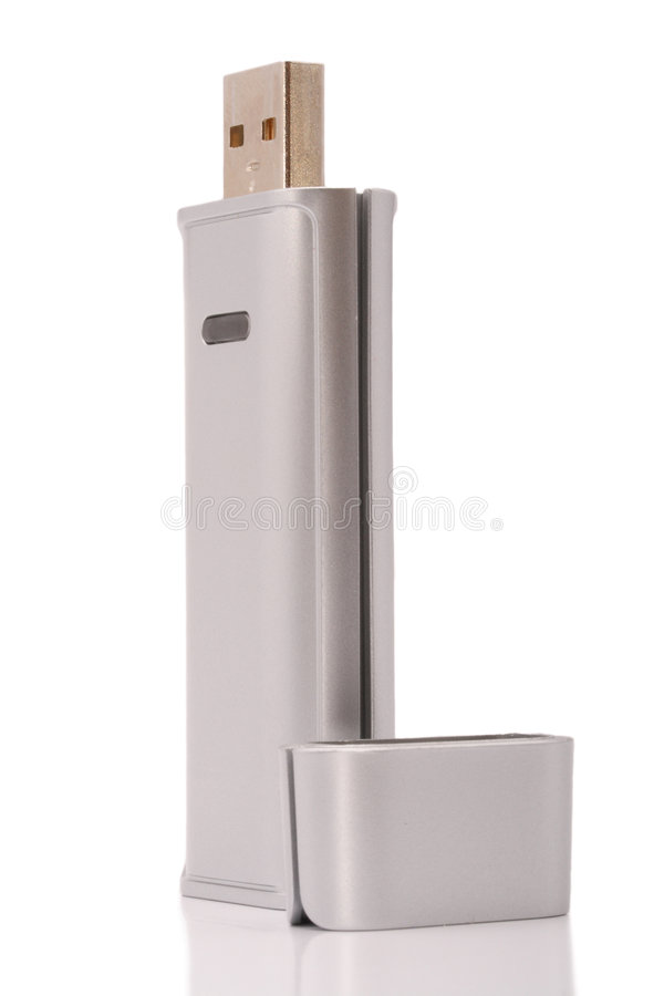 Free USB Wi-Fi Adapter Royalty Free Stock Photo - 6631155