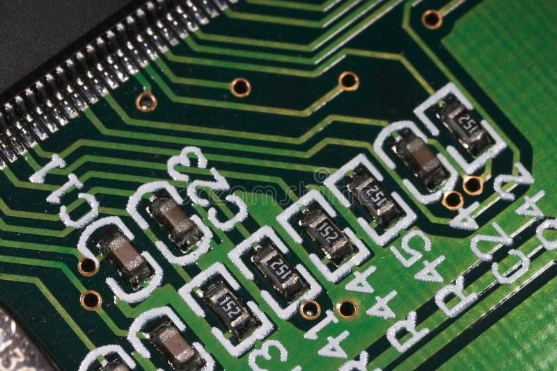 USB2 macro1 imagem de stock