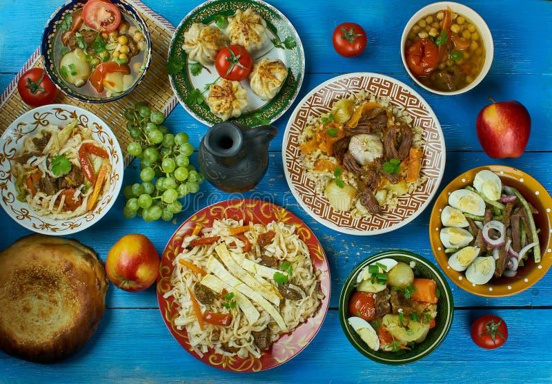 Usbekküche stockbilder
