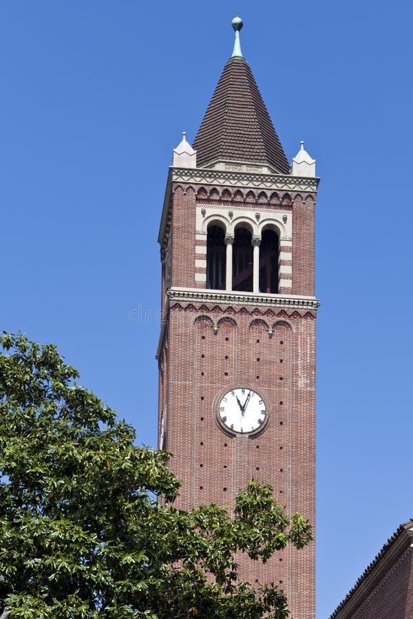 USC Clock Tower stock photos