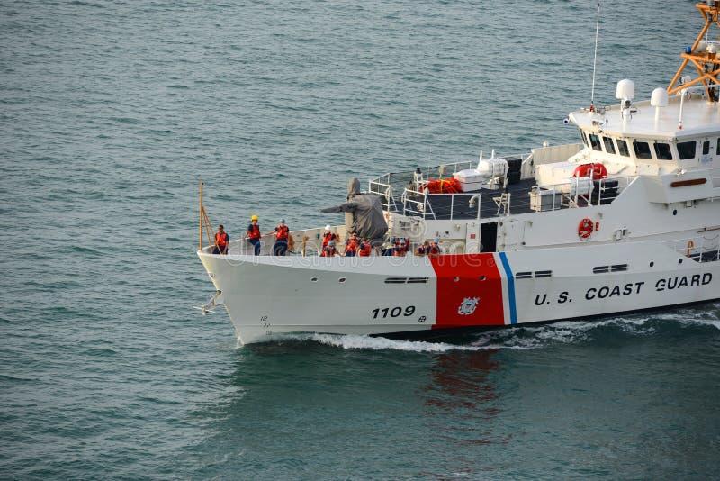 USCGC Kathleen Moore (WPC-1109) lizenzfreies stockbild