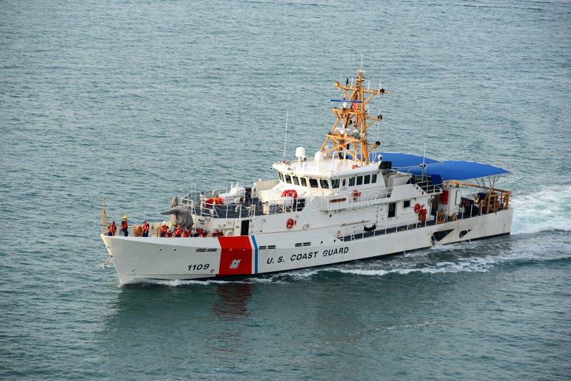 USCGC Kathleen Moore (WPC-1109) lizenzfreies stockfoto