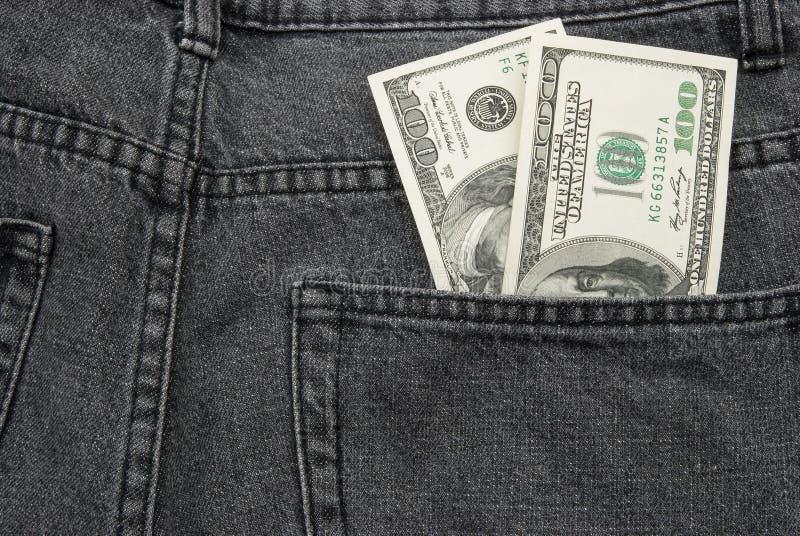 USD Pocket Money Royalty Free Stock Photos
