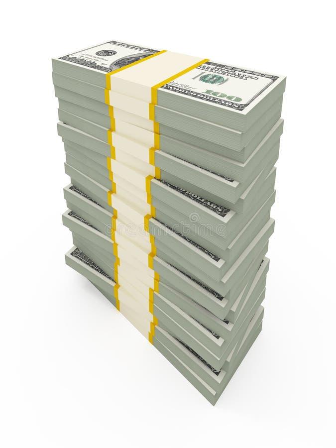USD Stacks Royalty Free Stock Photography