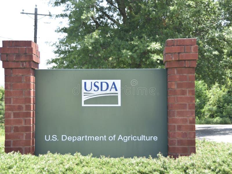 USDA美国农业部服务中心 免版税图库摄影