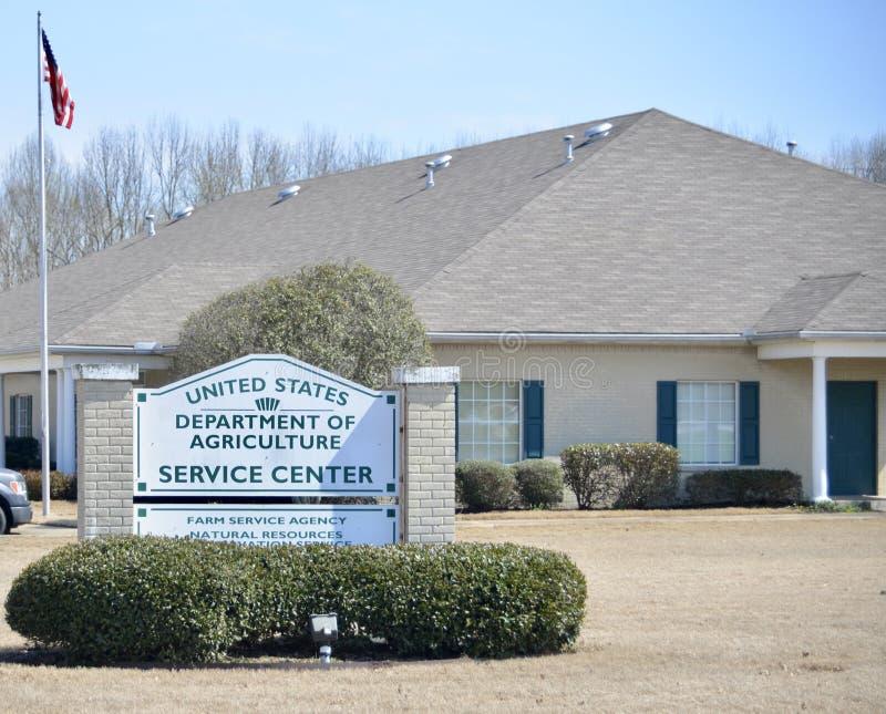 USDA-Ministerie van Landbouw, Jackson, Tennessee stock afbeelding