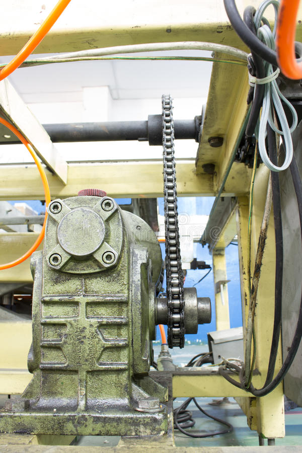 When we use electric motors in industrial applications that require speed, RPM (RPM - round per minute) are different. Gear is. An important element in reducing royalty free stock image
