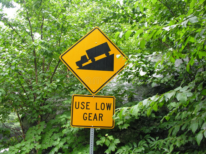 Download USE LOW GEAR Sign. Royalty Free Stock Photography - Image: 299957