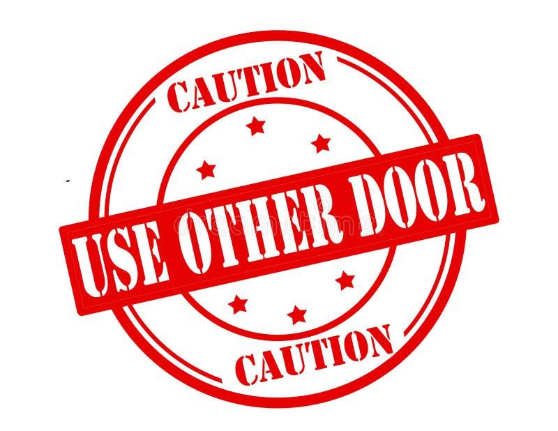Use a outra porta ilustração royalty free