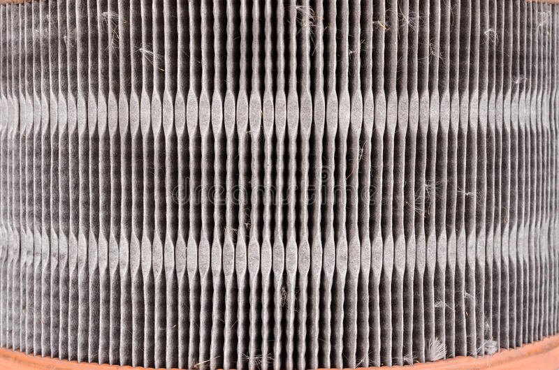 used air filter auto spare part royalty free stock photos