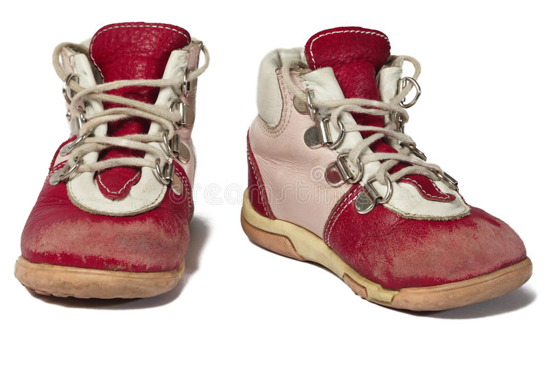 Download Used baby shoes stock image. Image of small, lasting - 13828325
