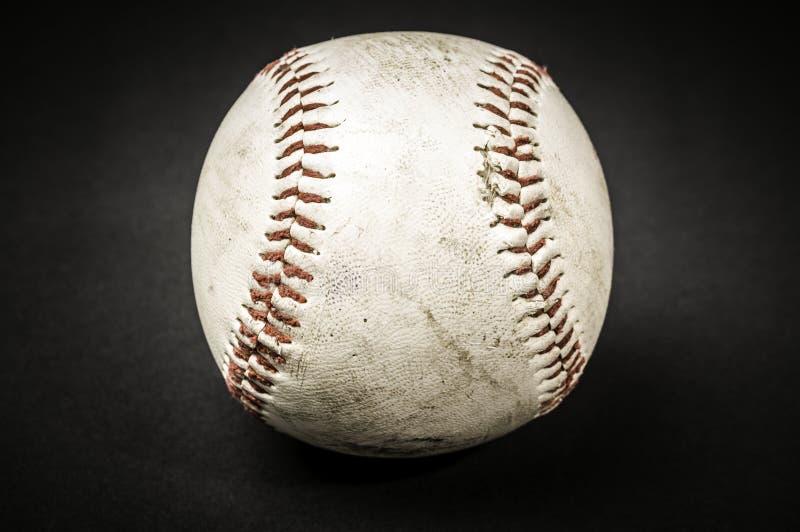 Used Baseball On Black Free Public Domain Cc0 Image