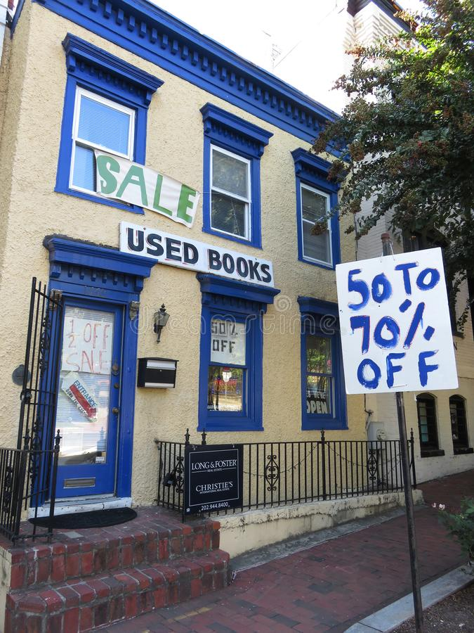 Used Books for Sale in Georgetown stock image
