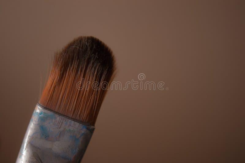Used brush royalty free stock photography