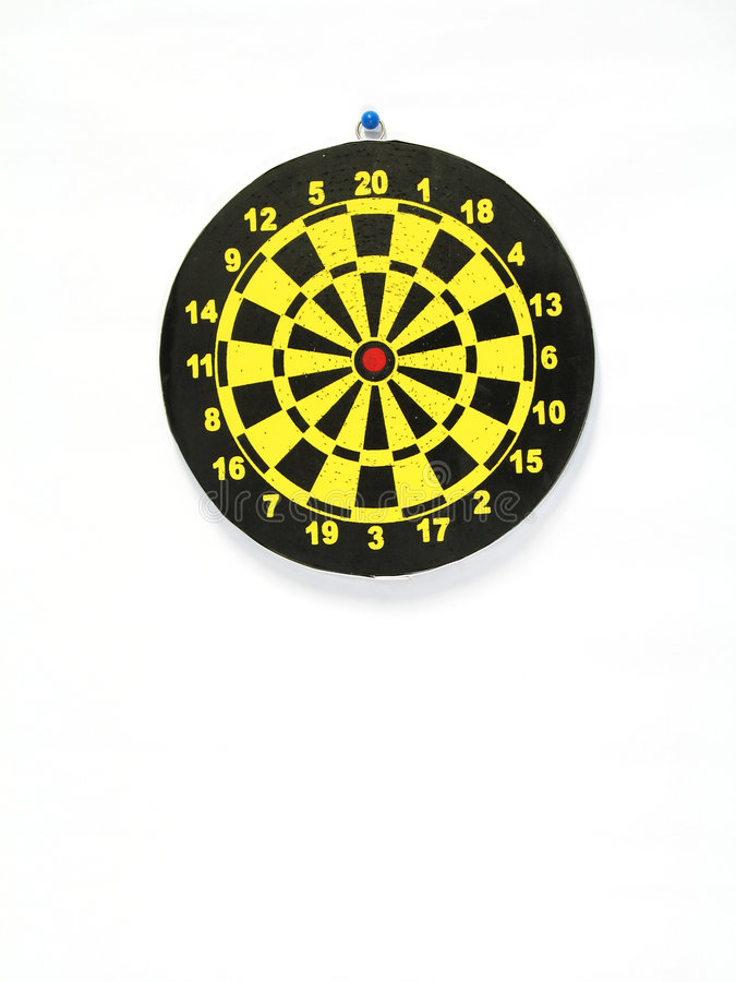 Used Dart Board royalty free stock image