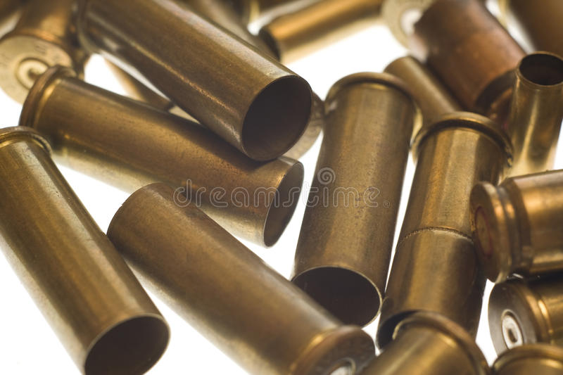 Download Used Empty Old Bullet Cartridges Royalty Free Stock Photos - Image: 12376008